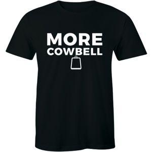 More Cowbell Funny Cool Saturday Night Men T-shirt